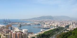 Málaga - cíl 1. etapy Vuelty 2018 a 3. etapy Vuelty 2015