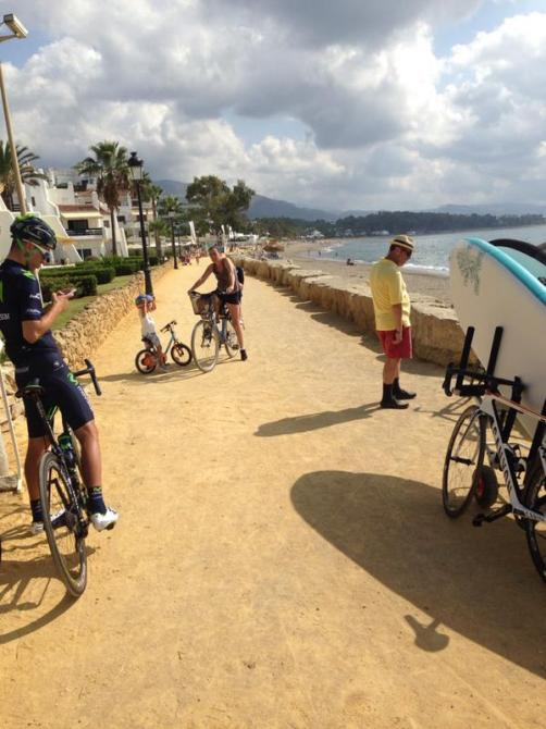 1. etapa Vuelta 2015 - písek
