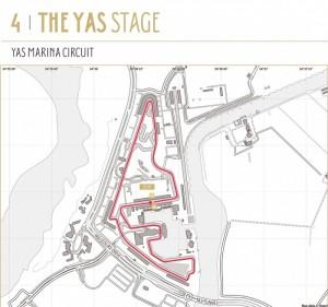 4. etapa Abu Dhabi Tour na okruhu F1