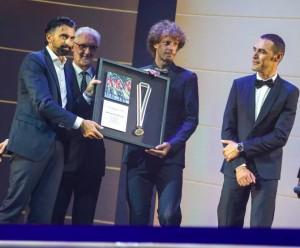 BMC - Daniel Oss a Manuel Quinziato galavečer UCI