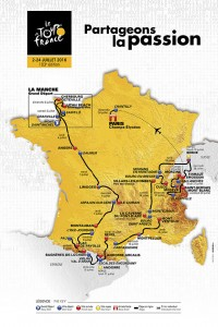 Tour de France 2016 trasa etap