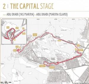 2. etapa Abu Dhabi Tour
