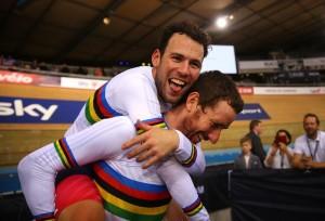 Bradley Wiggins a Mark Cavendish