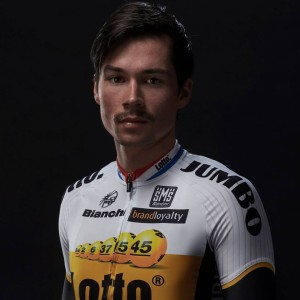 Primož Roglič v dresu týmu Lotto NL-Jumbo