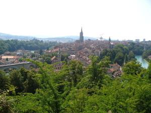 Bern - Berne - okolí Aargauerstalden - dojezd 16. etapy Tour de France