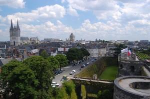 Angers - dojezd 3. etapy Tour de France
