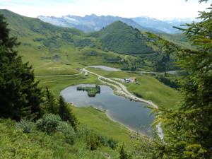 Col de Joux Plane - dojezd 20. etapy Tour de France