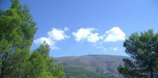 Dojezd 20. etapy Vuelty - Alto de Aitana
