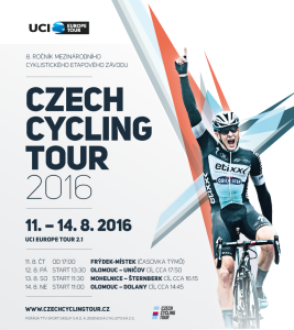 Czech Cycling Tour 2016 plakát