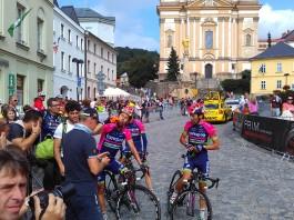 Diego Ulissi v cíli Czech Cycling Tour 2016