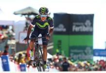 Nairo Quintana si dojel pro vítězství v 10 etapě