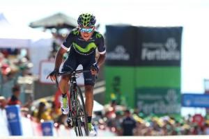 Nairo Quintana si dojel pro vítězství v 10. etapě