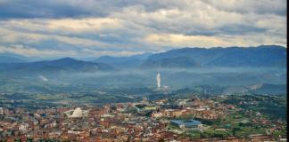Dojezd 14. etapy Vuelty 2019 a 9. etapy Vuelty 2016 - Oviedo, Alto del Naranco