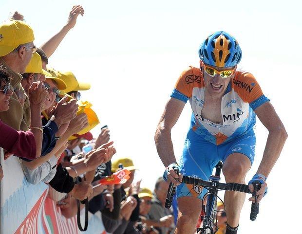 Wiggins na Mont Ventoux 2009