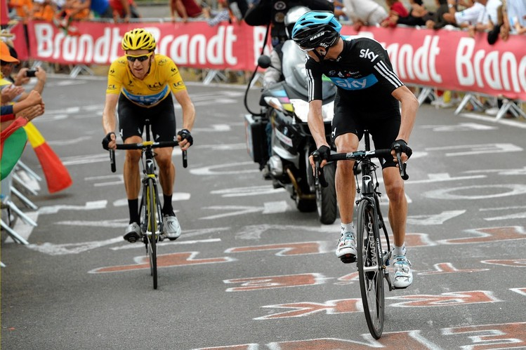 Froome a Wiggins