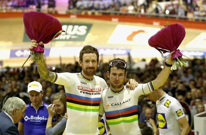 Mark Cavendish a Bradley Wiggins