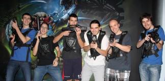 Náš LeTour tým na Laser Game