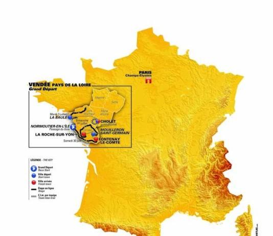 2018 Grand Depart Tour de France