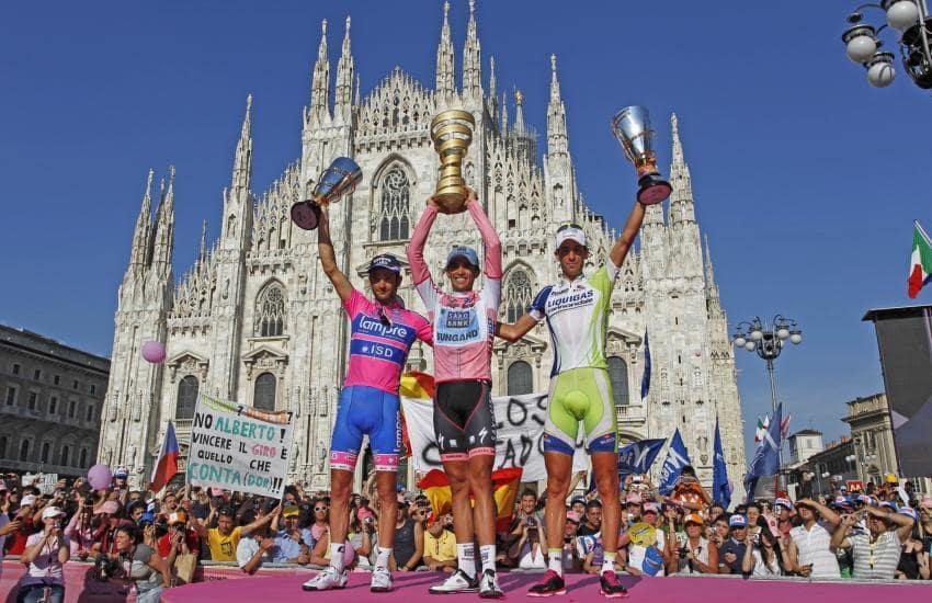 Giro d'Italia 2011 - pódium