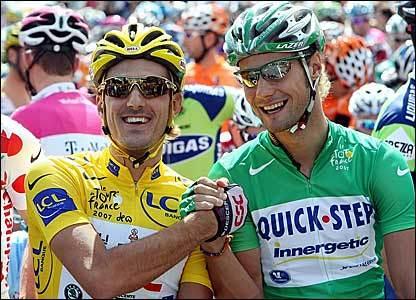 Boonen a Cancellara