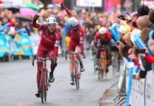 Alexander Kristoff vítězí na Eschborn-Frankfurt