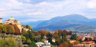 Bergamo - dojezd 15. etapy Giro d'Italia 2017
