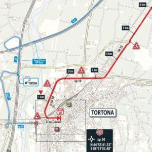 Dojezd 13. etapy Giro d'Italia 2017