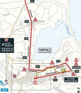 Dojezd 2. etapy Giro d'Italia 2017