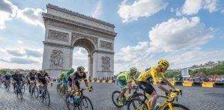 Paříž - Vítězný oblouk - Tour de France