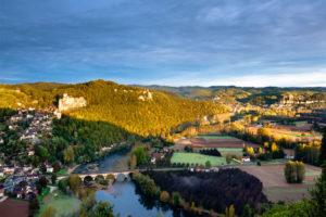 Department Dordogne - krajina 10. etapy Tour de France 2017