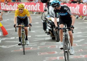 "Froome a Wiggins - ""Tak pojeď!"" - 17. etapa Tour de France 2012"