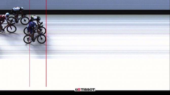 Marcel Kittel 7. etapa Tour de France fotofiniš