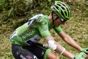 Marcel Kittel - smolař 17. etapy Tour de France 2017
