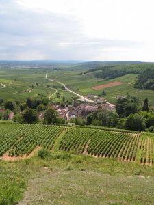 Nuits-Saint-Georges - okolí dojezdu 7. etapy Tour de France 2017
