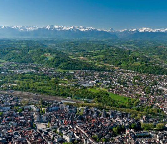 Pau - dojezd 11. etapy Tour de France 2017 a 18. etapy Tour de France 2018 a 13. etapy Tour de France 2019