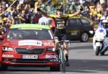 Primož Roglič - vítěz 17. etapy Tour de France 2017