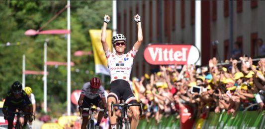 Warren Barguil - vítěz 13. etapy Tour de France 2017