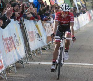 Alberto Contador - smolař 4. etapy Vuelty 2017