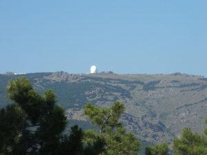 Calar Alto - dojezd 11. etapy Vuelty 2017