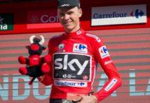 Chris Froome - král prvního závodního bloku Vuelty 2017