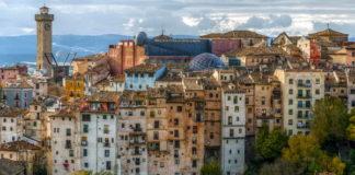 Cuenca - dojezd 7. etapy Vuelty 2017