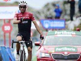 Alberto Contador - vítěz 20. etapy Vuelty 2017