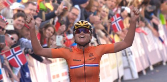 Chantal Blaak - mistryně světa v silničním závodě 2017