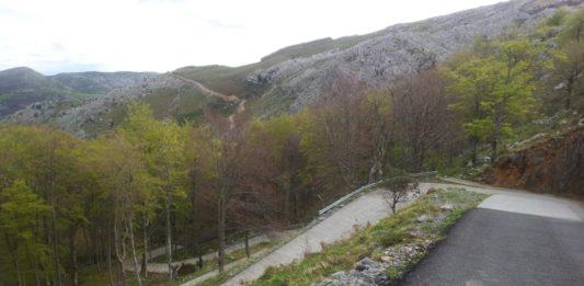 Los Machucos - závěrečná prémie 13. etapy Vuelty 2019 a 17. etapy Vuelty 2017