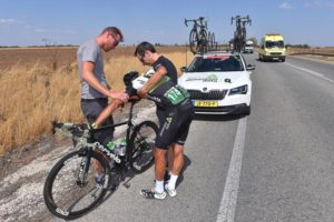 Omar Fraile 13. etapa Vuelta 2017