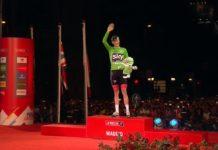 Zelený Froome - vítěz bodovacího pořadí Vuelty 2017
