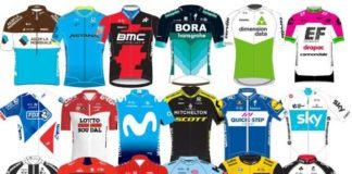 Cyklistické dresy 2018