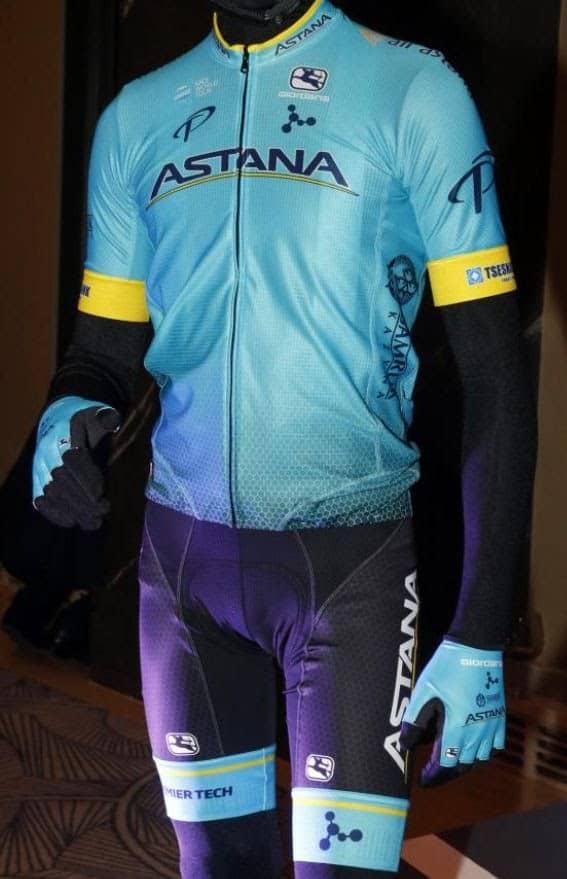 Cyklistický dres Astana 2018