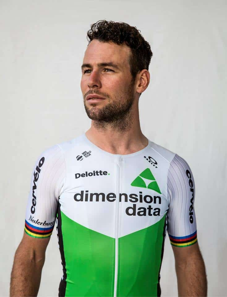 Cyklistický dres Dimension Data 2018