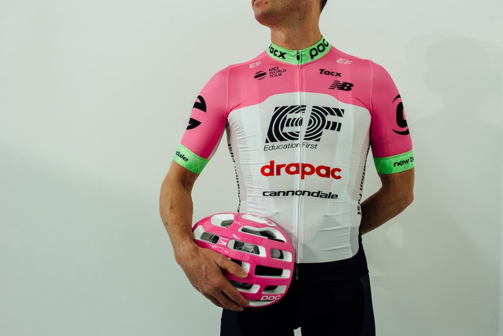 Cyklistický dres EF Education First-Drapac Cannondale 2018
